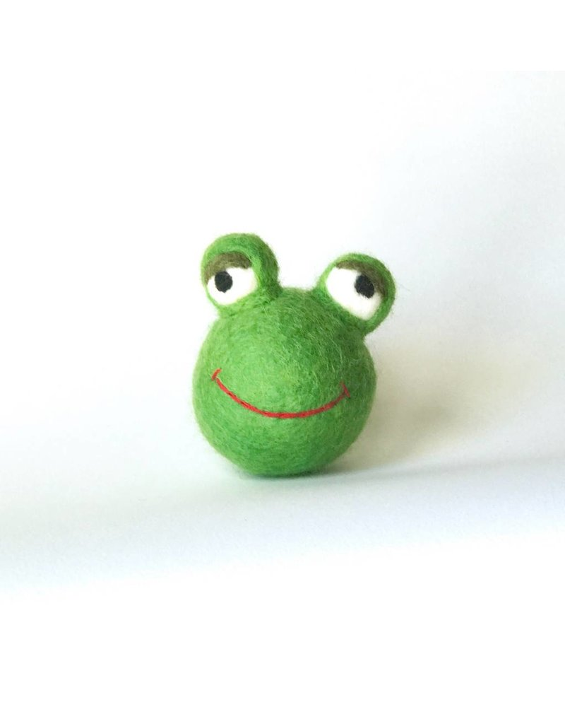Ware of the Dog Frog Toy