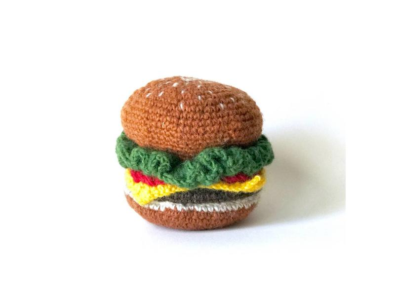 Ware of the Dog Burger Toy