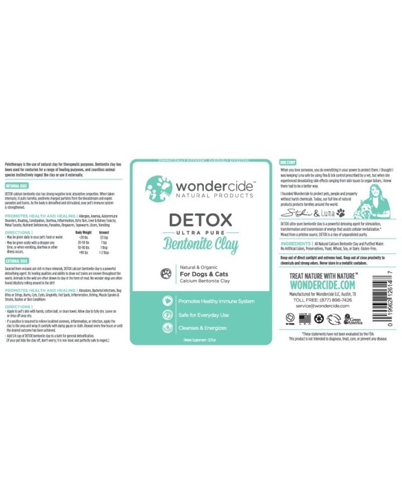 Wondercide Detox Bentonite Clay