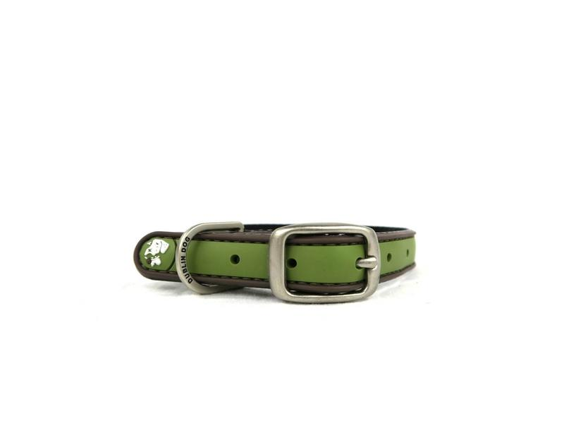 Dublin Dog Green Waterproof Collar