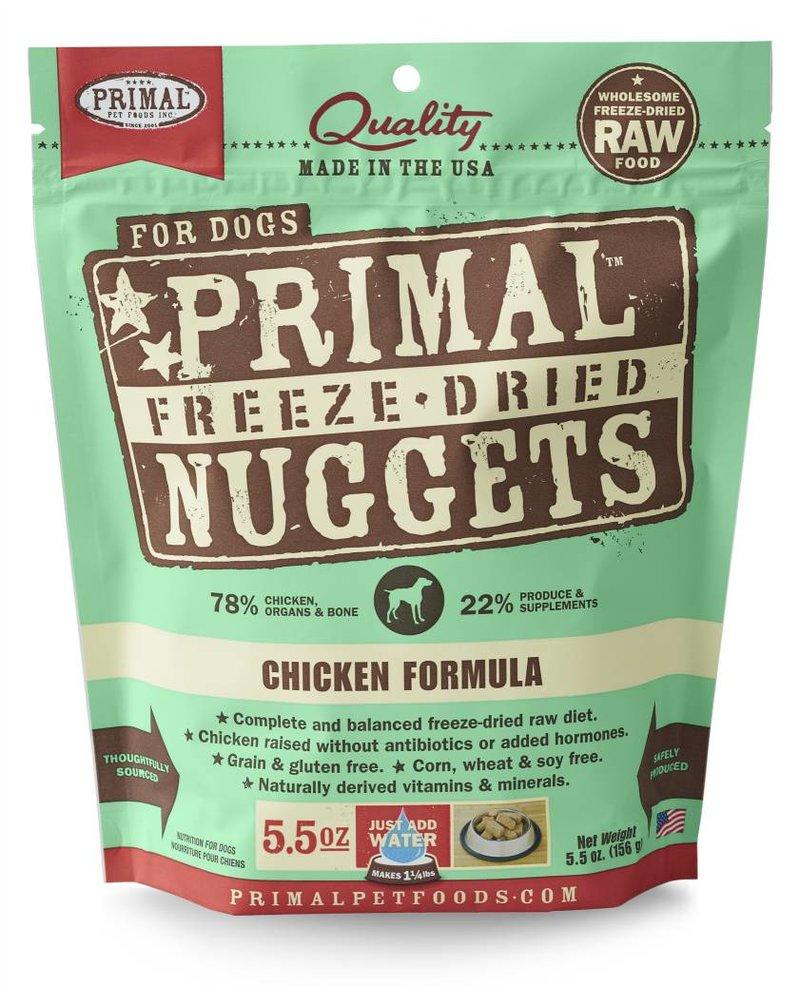 Primal Freeze-Dried Chicken Formula