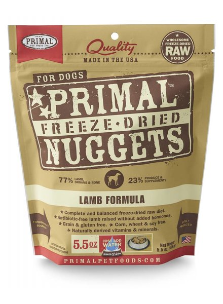 Primal Freeze-Dried Lamb