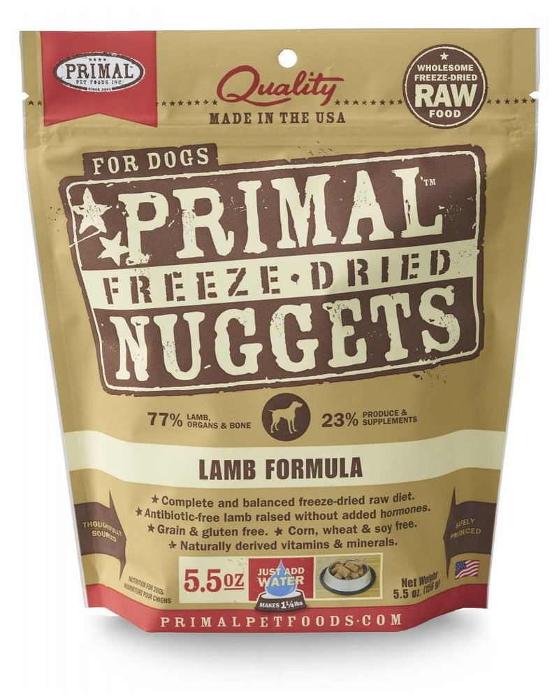 Primal Freeze-Dried Lamb Formula