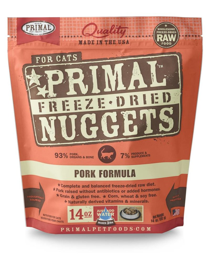 Primal Freeze-Dried Formula Pork for cats