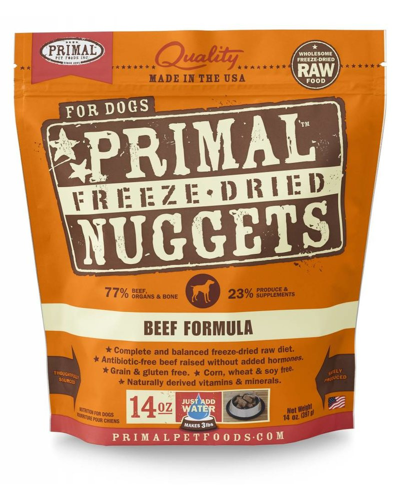 Primal Freeze-Dried Formula Beef