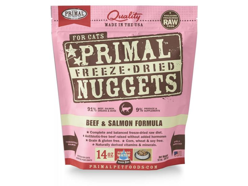 Primal Freeze-Dried Formula Beef & Salmon