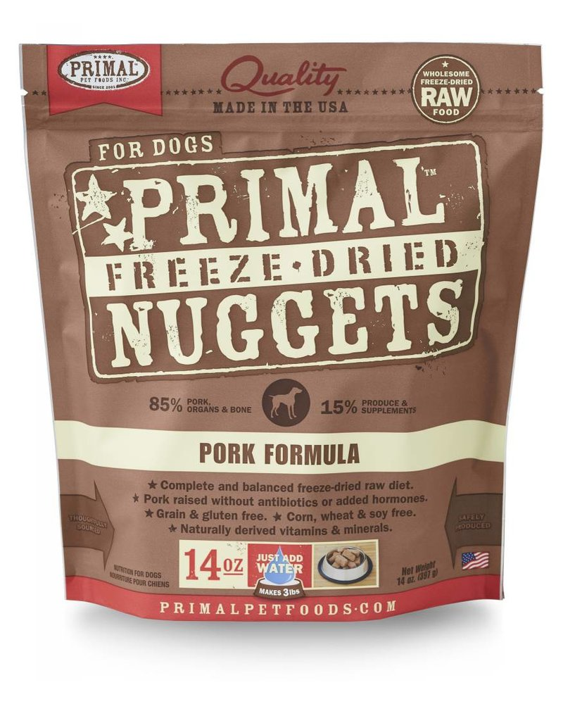 Primal Freeze-Dried Formula Pork for dogs