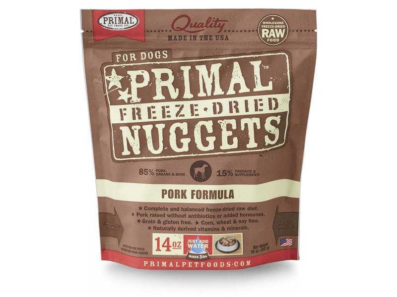 Primal Freeze-Dried Formula Pork