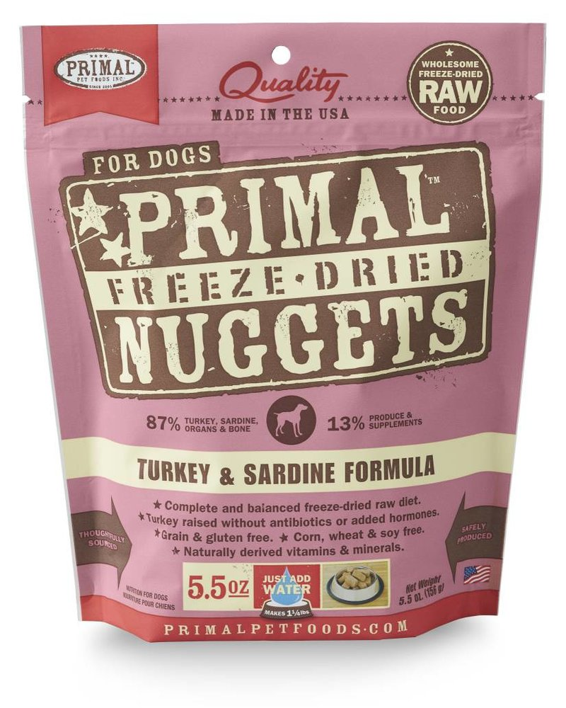 Primal Freeze-Dried Formula Turkey & Sardine