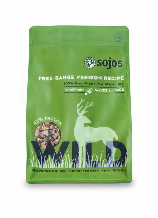 Sojos Wild Grain-Free Venison