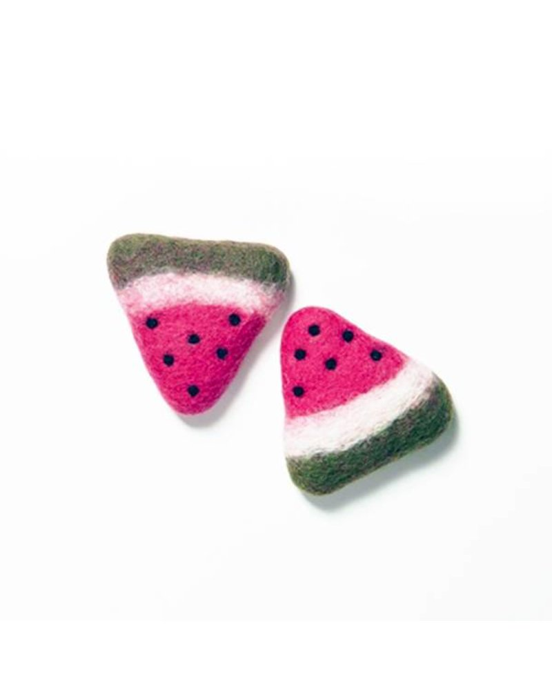 Love Thy Beast Watermelon Wool Toy