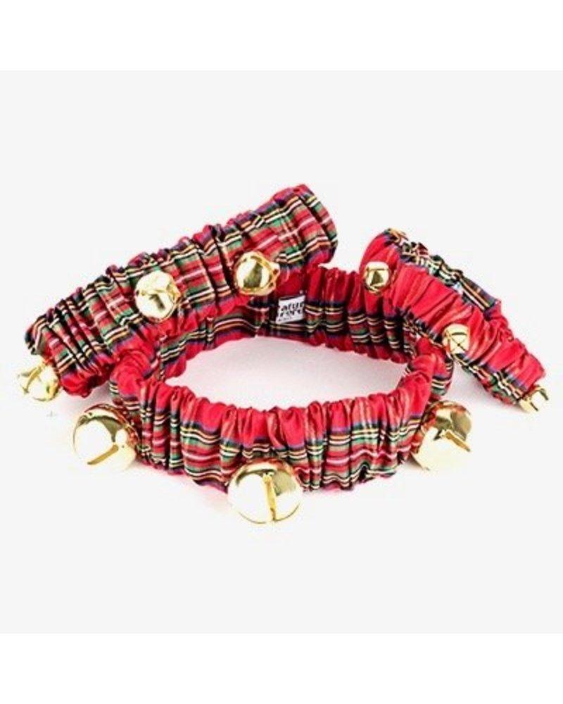 Plaid Jingle Bell Collar
