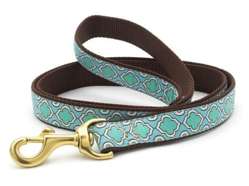 Up Country Dog Leash, Seaglass