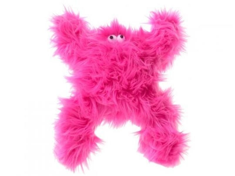 West Paw Pink Love Monster Toy