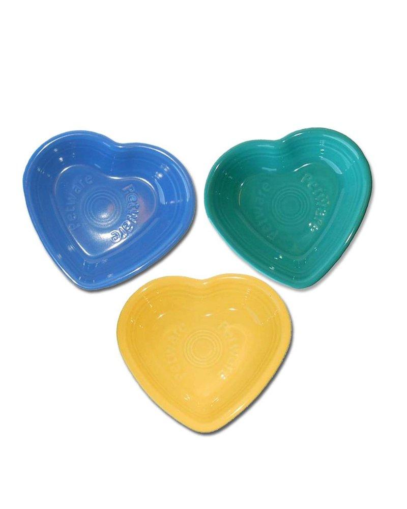 Fiesta Petware Heart Shaped Porcelain Bowl