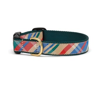 Up Country Madras Dog Collar