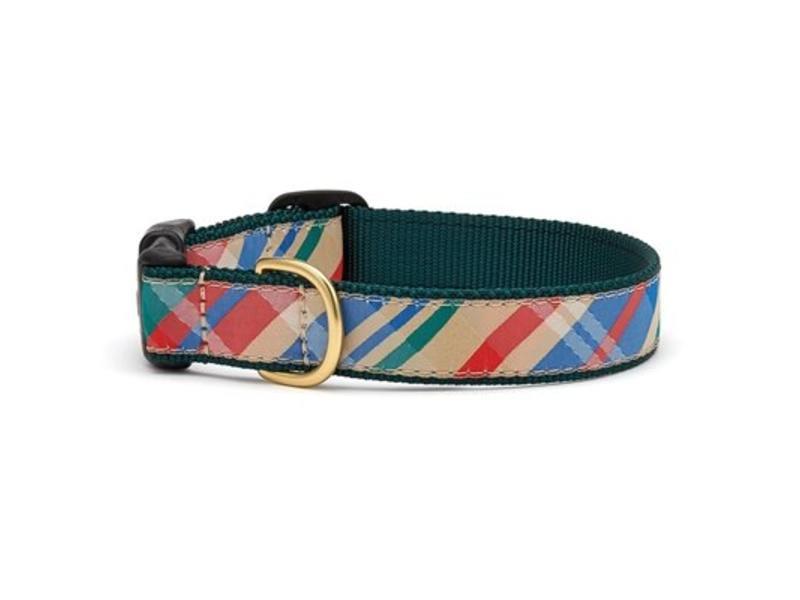 Up Country Madras Dog Collar