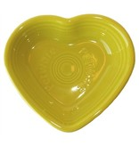 Fiesta Petware Heart Shaped Porcelain Bowl
