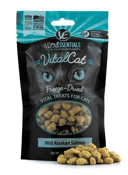 Vital Essentials Salmon Bites for cats