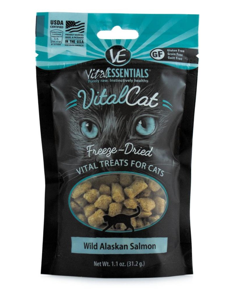 Vital Essentials Salmon Bites for cats