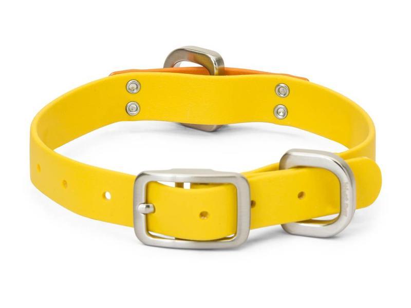 West Paw Jaunts Collar, Yellow