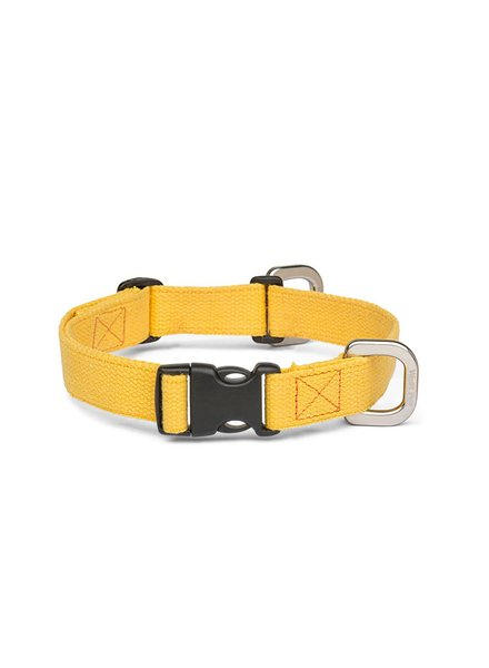 West Paw Strolls Hemp Collar, Yellow