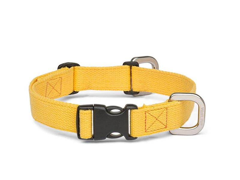 West Paw Strolls Hemp Collar, Yellow