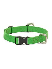 West Paw Strolls Hemp Collar, Green