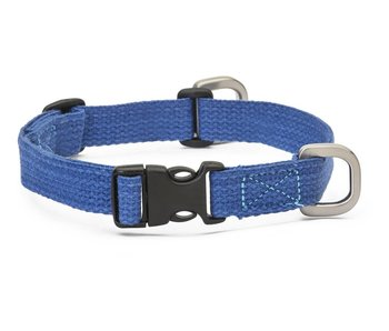 West Paw Strolls Hemp Collar, Blue
