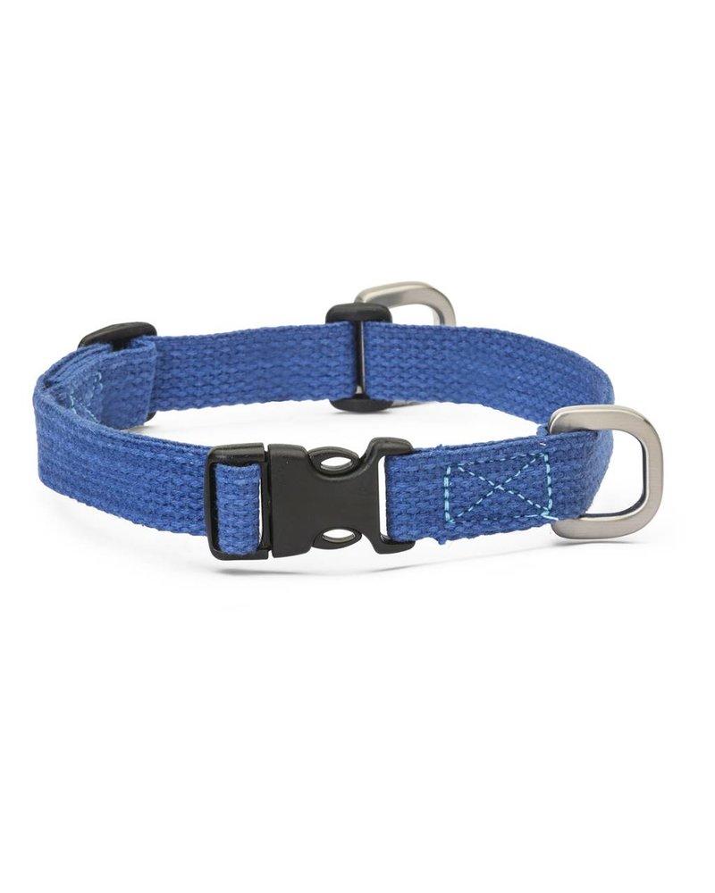 West Paw Strolls Hemp Collar, Blue