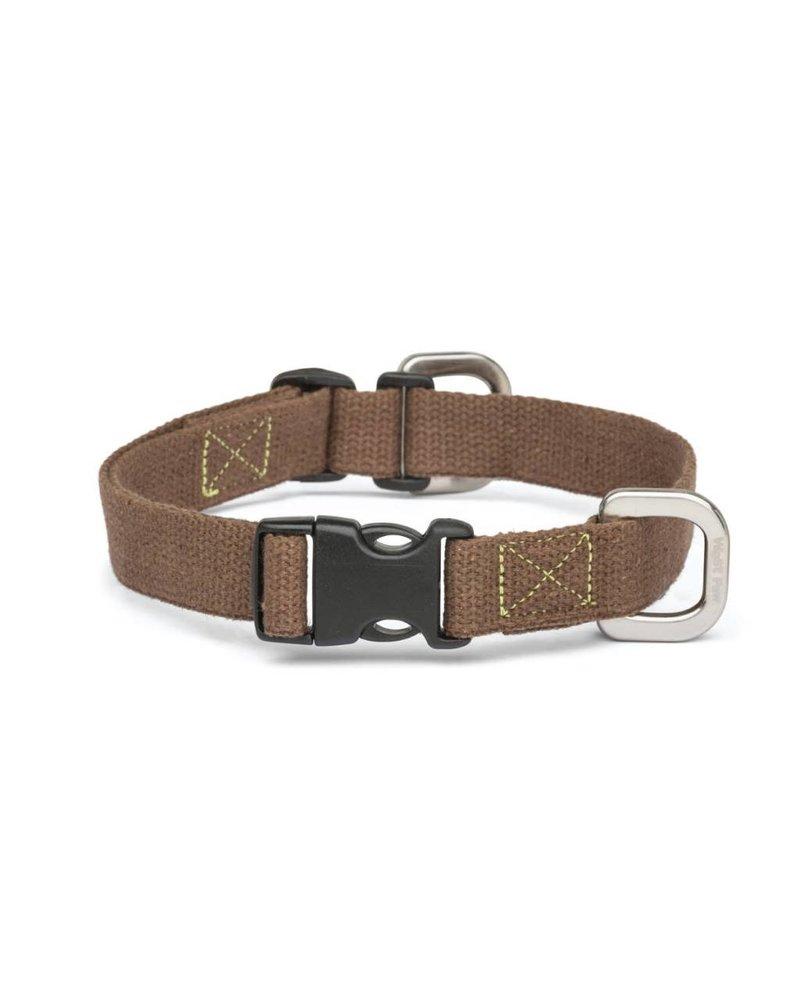 West Paw Strolls Hemp Collar, Brown