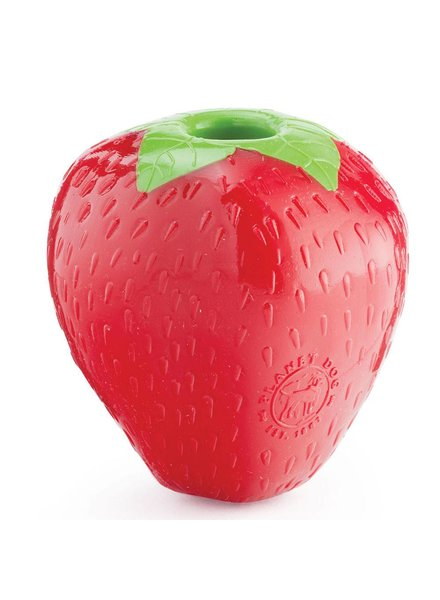 Planet Dog Orbee-Tuff Strawberry Toy