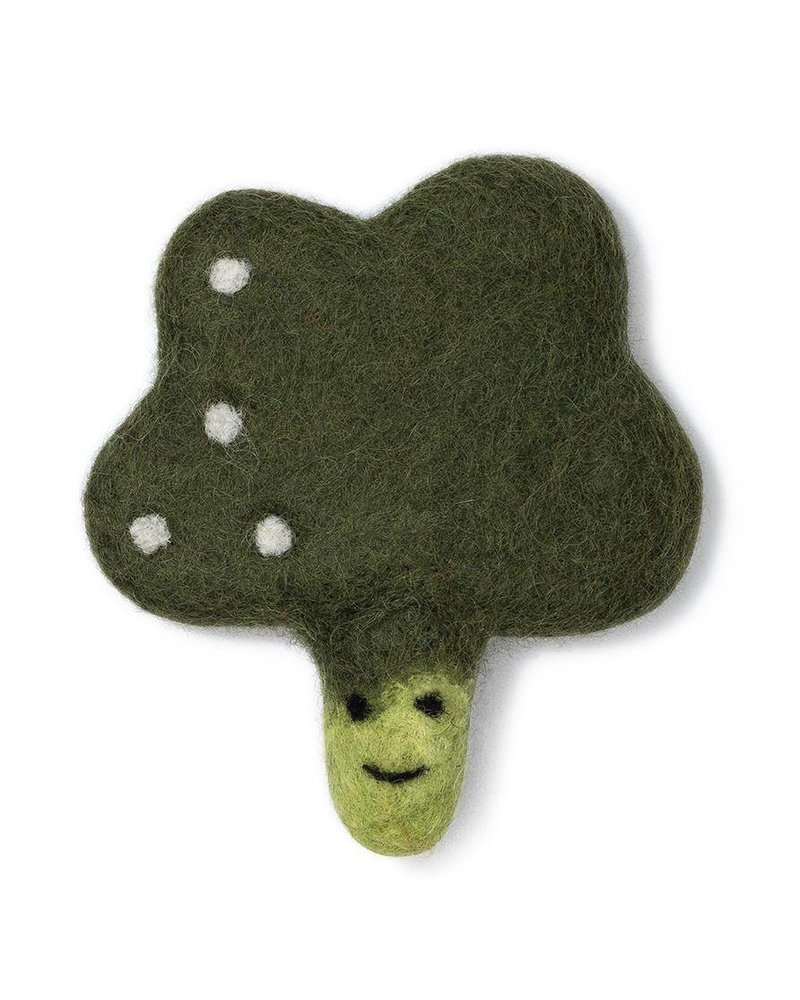 Love Thy Beast Broccoli Wool Toy