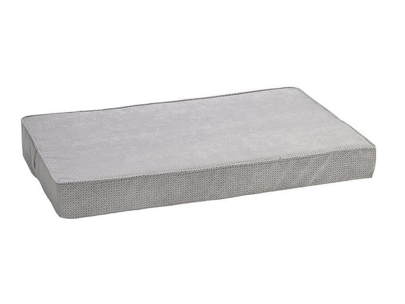 Bowsers Memory Foam Bed, Silver Treats