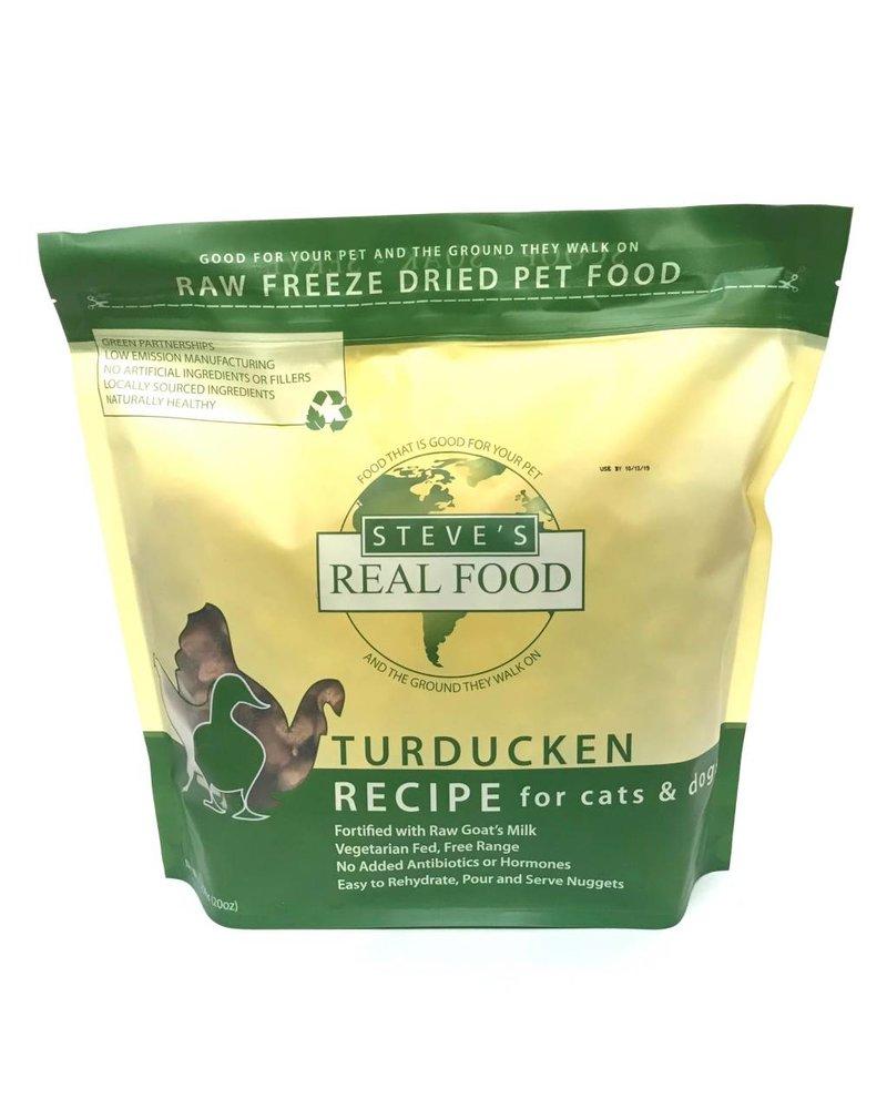 Steve's Real Food Freeze-Dried Turducken - Turkey, Duck & Chicken Blend