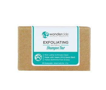 Wondercide Exfoliating Shampoo Bar