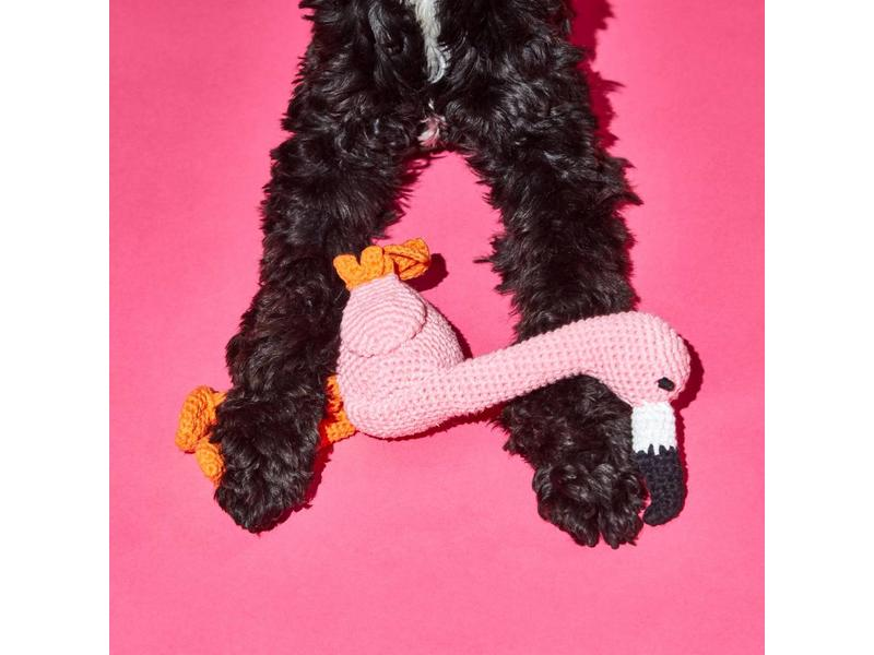 Ware of the Dog Crochet Flamingo