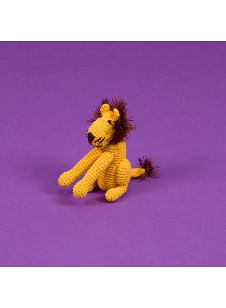 Ware of the Dog Crochet Lion