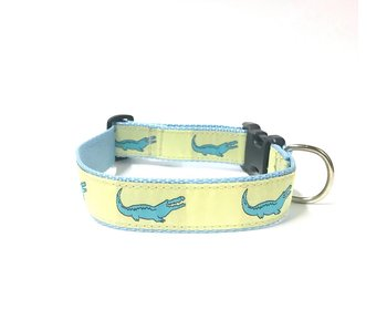 Preston Yellow Alligator Collar