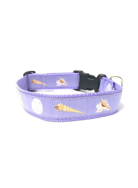 Preston Lilac Seashells Collar