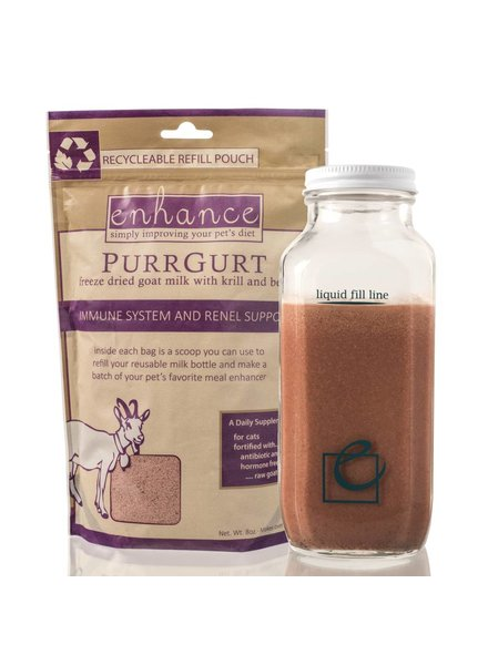 Steve's Real Food Enhance PurrGurt Goat Milk