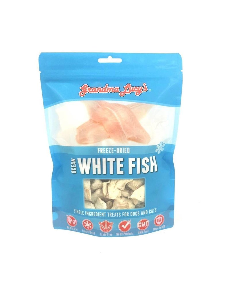 Grandma Lucy's Singles Freeze-Dried Ocean White Fish