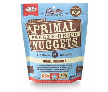 Primal Canine Quail Freeze-Dried Formula