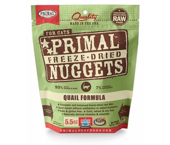 Primal Feline Quail Freeze-Dried Formula