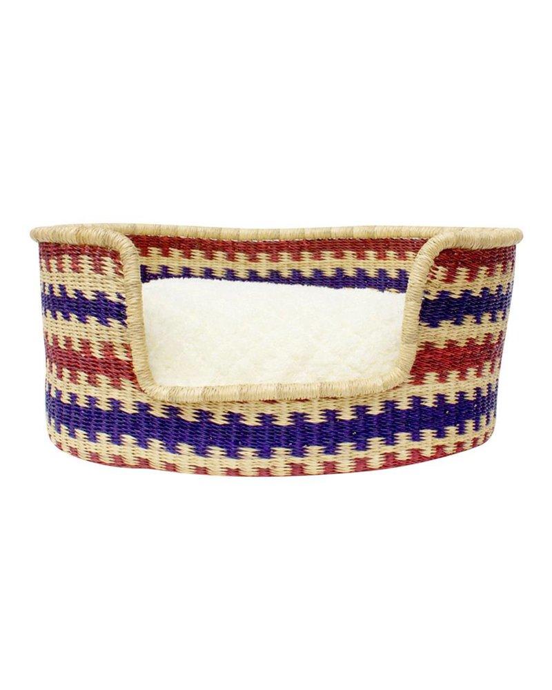 Design Dua Woven Basket Bed, River