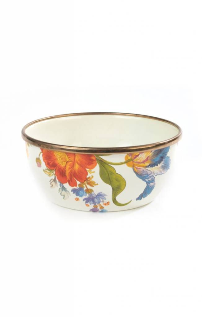 MacKenzie Childs Flower Market Pinch Bowl