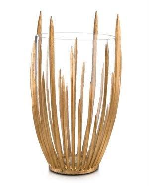 John Richard Gold Star Struck Vase