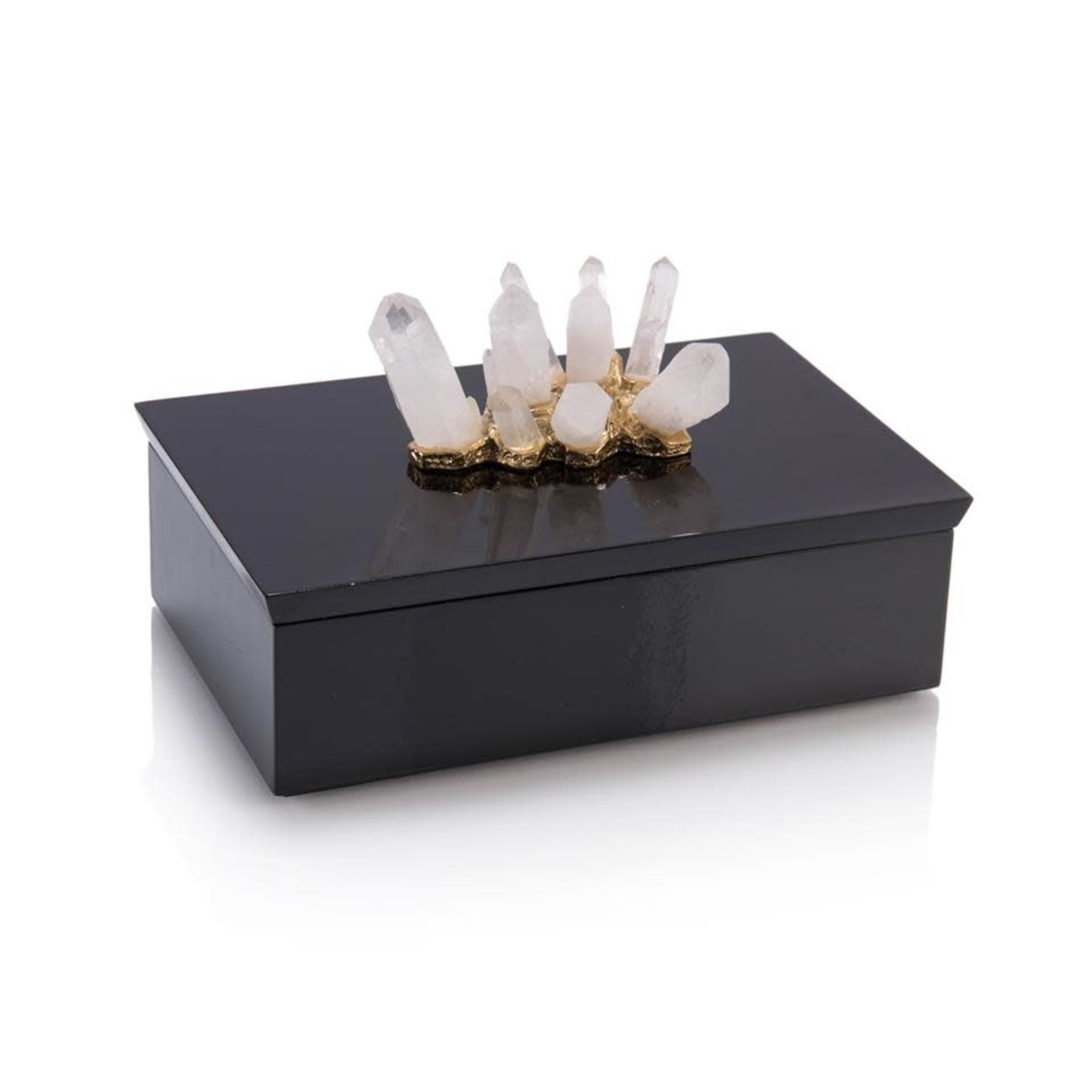 John Richard Crystal Adornment Black Box
