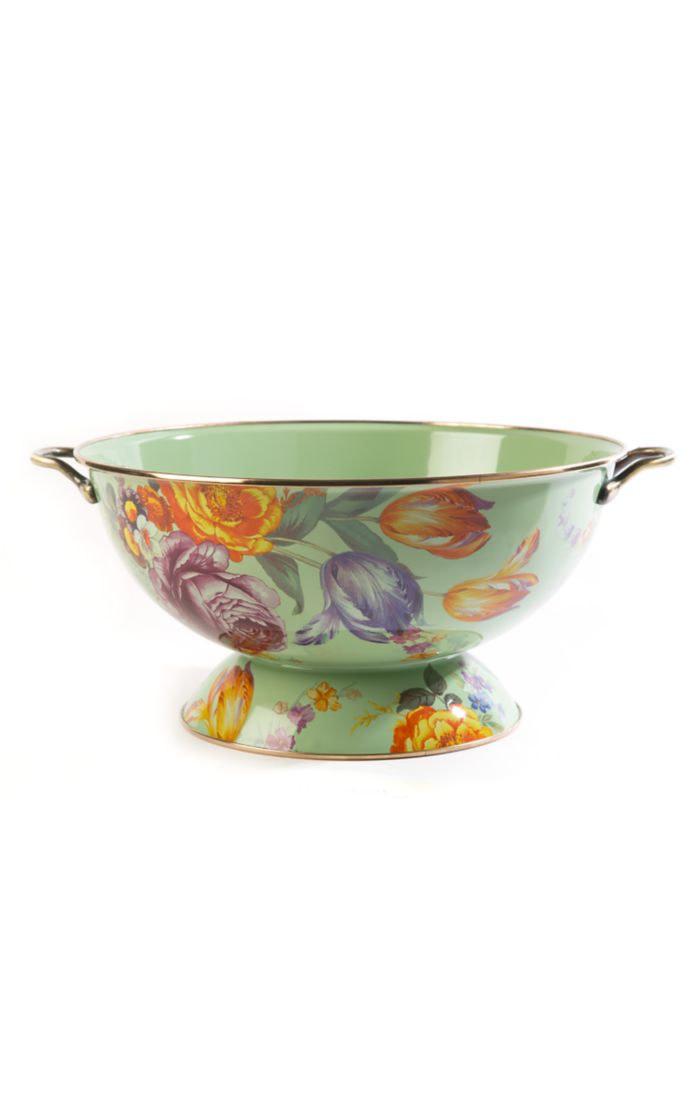 MacKenzie Childs Flower Market Everything Bowl - Green