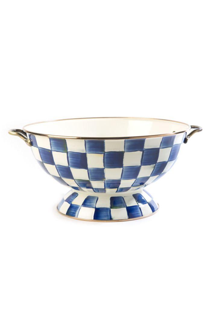 MacKenzie Childs Royal Check Everything Bowl
